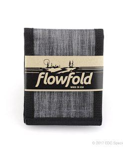 Flowfold Vanguard Limited Billfold Wallet Heather Grey