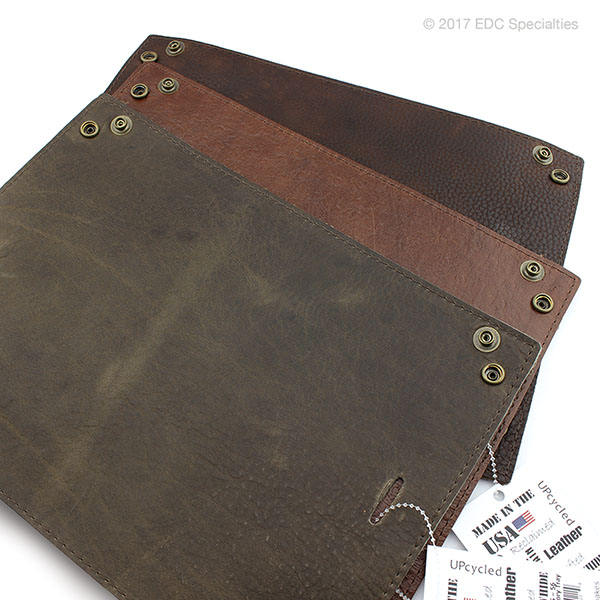 Kingport Industries Reclaimed American Leather Large Accessory Tray