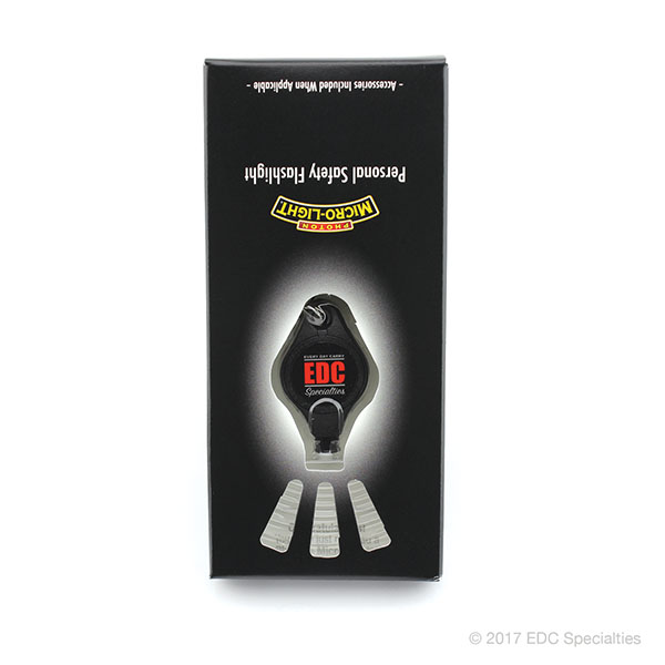 Photon Micro-Light I Covert LED Keychain Flashlight (EDC Specialties Logo)