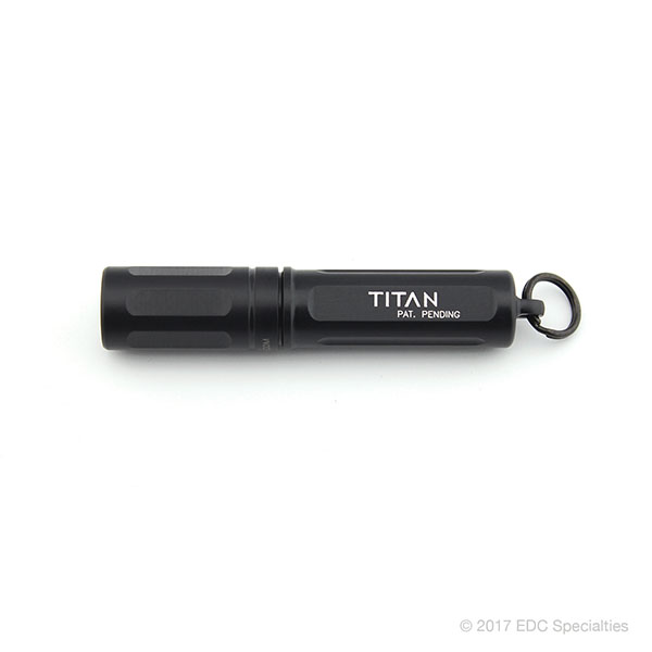 Surefire Titan Ultra-Compact Dual-Output LED Keychain Light Black
