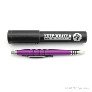 Tuff Writer Precision Press Series Pen Purple