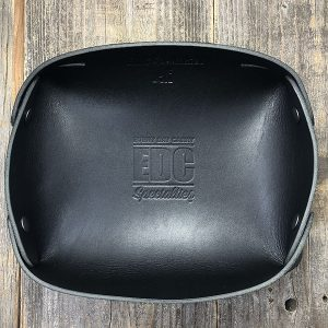 EDC Specialties American Leather Large EDC Accessory Tray – Black