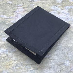 Flowfold Vanguard Limited Billfold Wallet Black