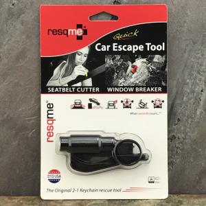 ResQMe Quick Car Escape Tool Black