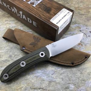 Benchmade 15400 Pardue Hunter w Leather Sheath
