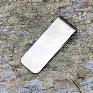 Handmade Stainless Steel Money Clip