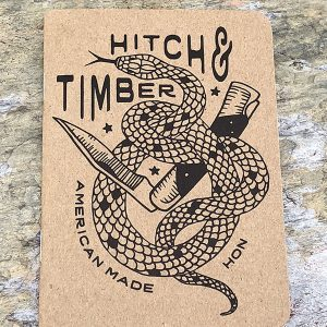 Hitch & Timber Note Writing Pad