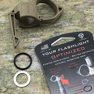 Thyrm Switchback 2.0 Large Tactical Flashlight Ring Tan