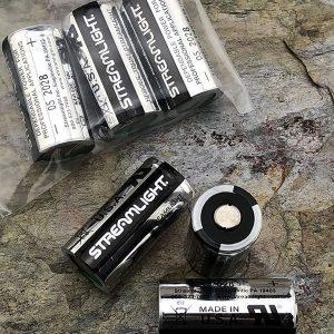 Streamlight CR123 3v Lithium Batteries 3 Pack