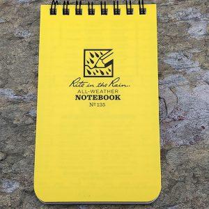 Rite-In-The-Rain Waterproof Note Pad Yellow