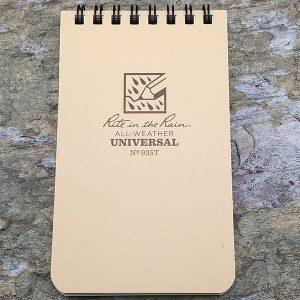 Rite-In-The-Rain Waterproof Note Pad Desert Tan
