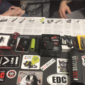 EDC Box Club Year 1 (Monthly Subscription)