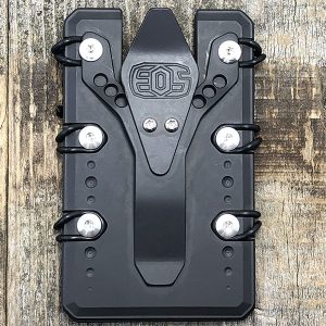 EOS Elite Outfitting Solutions Titanium Wallet 2.0 Black Cerakote