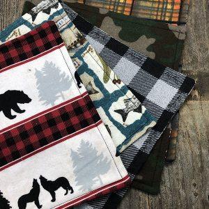 Handmade Seasonal Winter Hanks (Handkerchief)